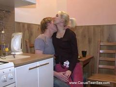 small tits teen couple penetrated