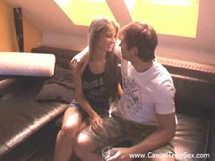 shaved blond teen penetrated
